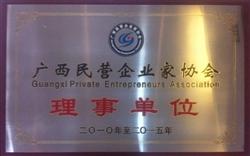 广西民营企业家协会理事单位