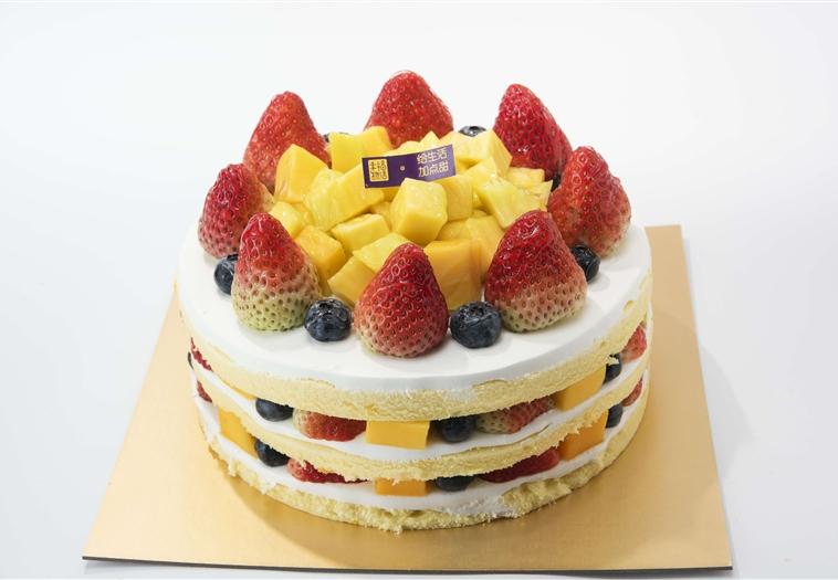 鲜果乳脂——缤纷水果
